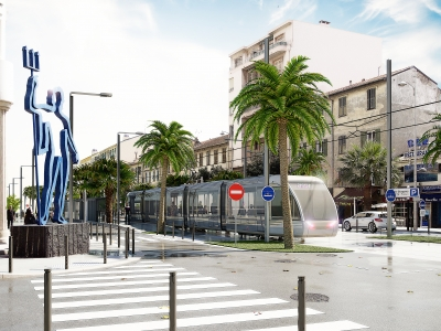 Nice Côte d'Azur – Tramway