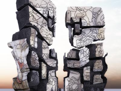 La Tour aux Figures – Jean Dubuffet