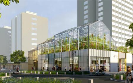 Real estate urban farm (91) – Épinay-sous-Sénart