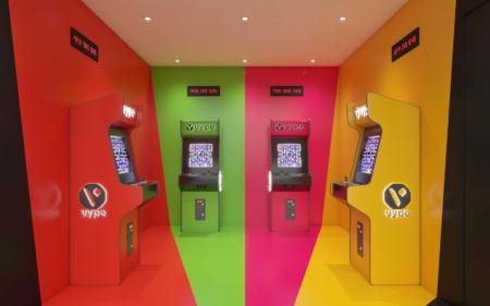 Event concept – Arcade room
