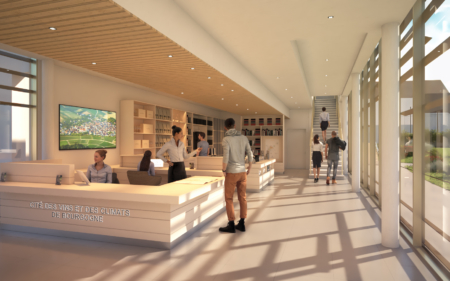 Chablis New Architectural Wine Project Visit – Animation 3D
